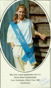 1985 Miss Ivanka Nagelkerken 2