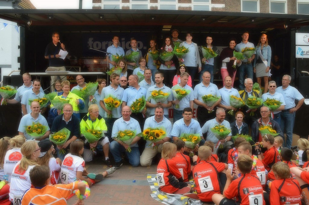 Medewerkers Kleine Tour Steenbergen 2014