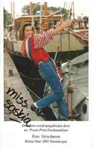 1991 Miss Saskia Hoetelmans 1